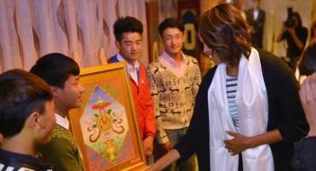 China Michelle Obama