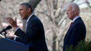 Biden and Obama healthcare
