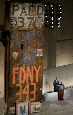 9-11 Museum Dedication1