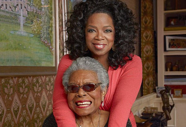 angelou and oprah