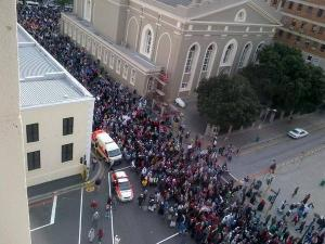 Cape Town protests for Palestine