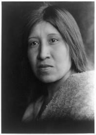 Edward S. Curtis Collection- A desert Cahuilla woman