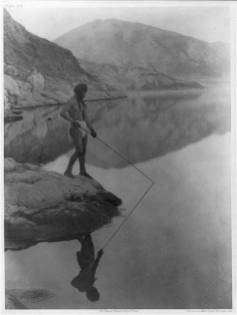 Edward S. Curtis Collection- Shores of Walker Lake- Paviotso