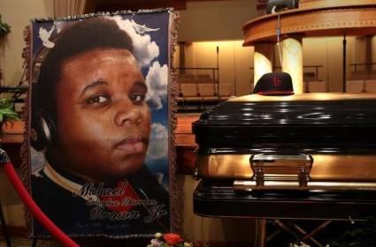 Funeral 4 Michael Brown 24