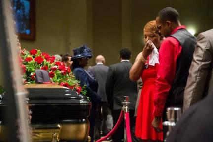 Funeral 4 Michael Brown