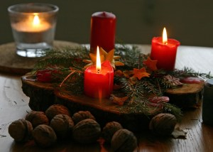 Holiday candles 8