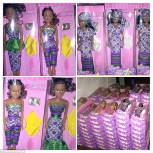 'Queens of Africa' doll 3