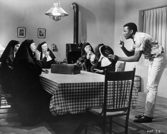 Sidney Poitier In 'Lilies Of The Field'