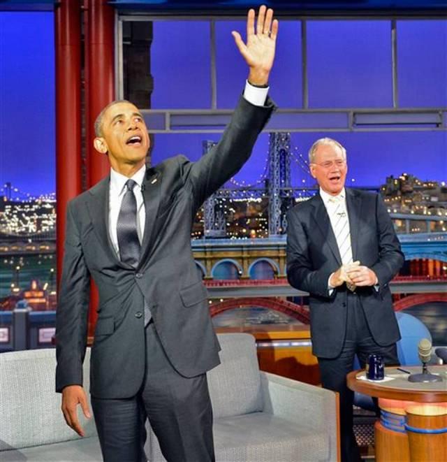 People Obama Letterman
