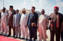 Buhari arrives in America 24