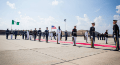 Buhari arrives in America 26