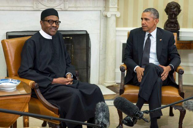Buhari Meets Obama At The White House 21