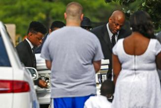 Sandra Bland Funeral Photos 17