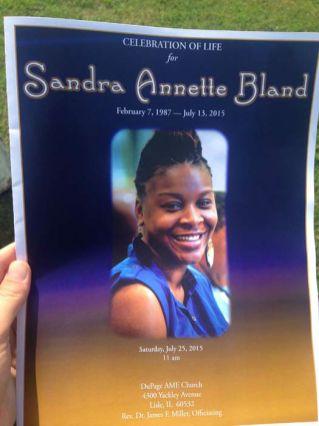 Sandra Bland funeral photos