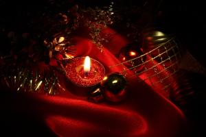 christmas candles 78