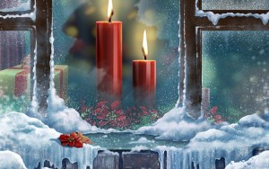 Christmas candles 89