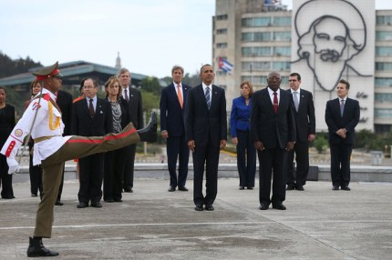 Cuba wreath laying ceremony 1