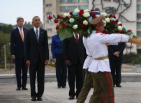 Cuba wreath laying ceremony 10
