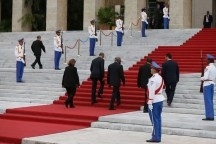 Cuba wreath laying ceremony 11