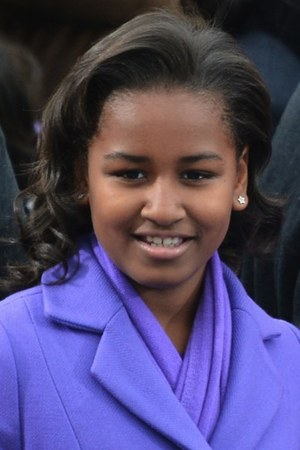 Sasha Obama 2016-18