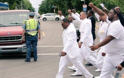 Philando Castile Funeral 9