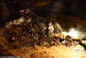 APTOPIX Oil Pipeline Protest