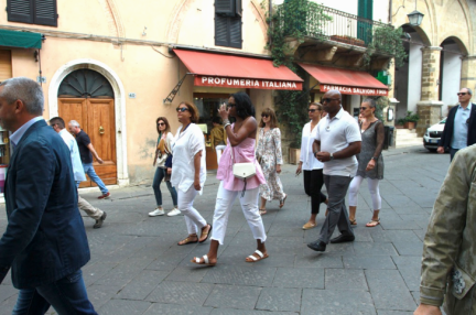 Michelle Exploring Italy 7