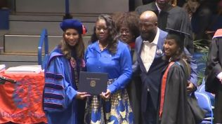Trayvon Martin awarded degree 2