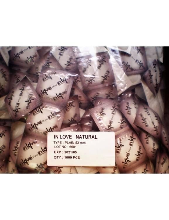 Bolsa de 1.000 Preservativos Naturales