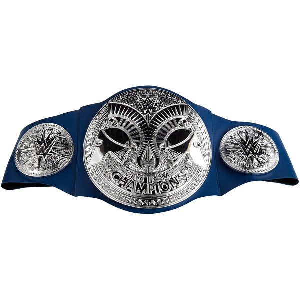 WWE Smackdown Tag Team Championship Title Belt   3 Count ...
