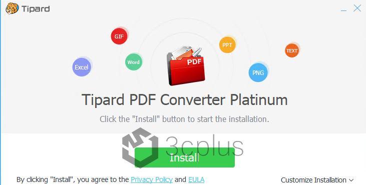 限時免費 | Tipard PDF Converter 轉檔工具免費下載