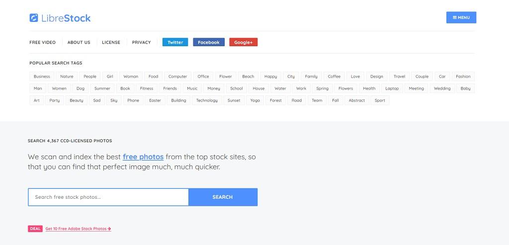 LibreStock 最強大的創用CC免費圖庫