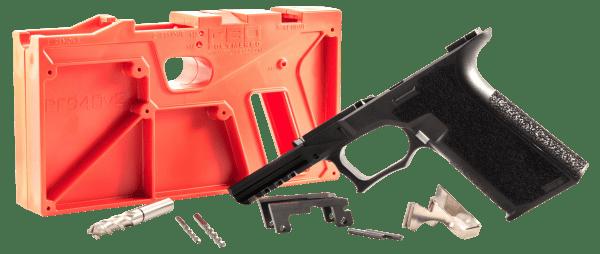 Polymer80 PF940V2BL G17/22 Gen3 Compatible Frame Kit Polymer Black