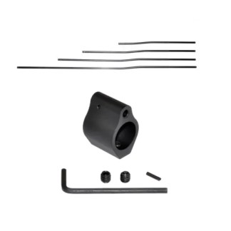 .750 Low Profile Gas Block and Black Nitride Gas Tube