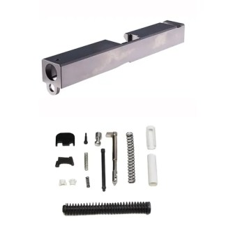 Glock 17 Raw Slide and Completion Kit Combo