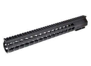 "15"" keymod slim free float handguard"