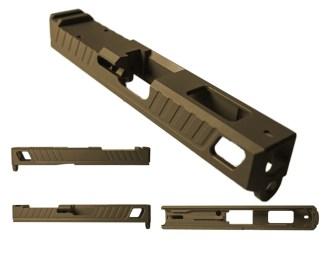 ATA Badger Glock 19 RMR Burnt Bronze Slide
