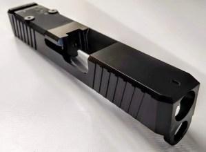 Glock 26 DLC RMR Slide