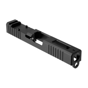 Brownells Glock 17 RMR cut windowed slide