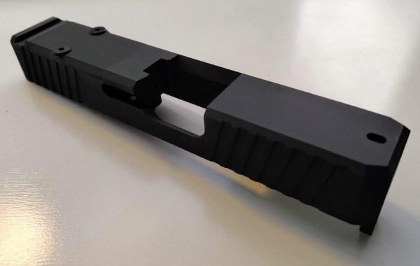 Sniper Gray Cerakote Glock 26 RMR Slide