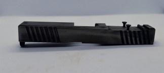Black battleworn slide for Glock 17