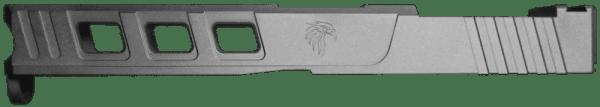Tungsten Cerakote Glock 17 RMR slide