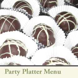 3Cs party platter menu