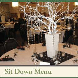 3cs catering sit down menu