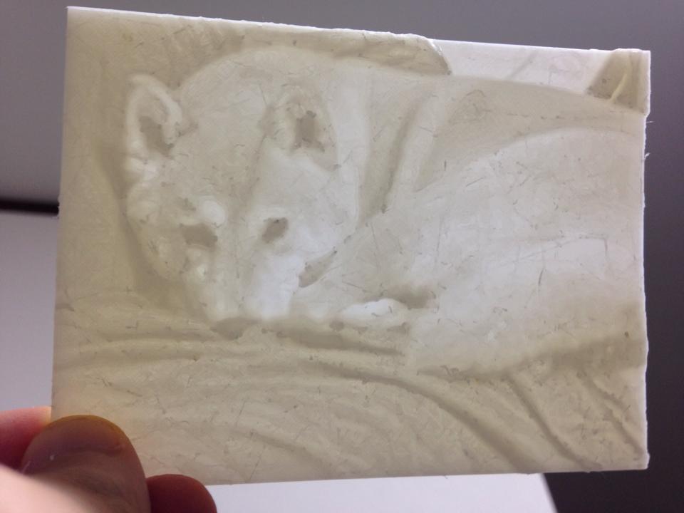 3Dプリンタによるリトフェイン作品を「プリントフェイン」と呼ぶことに決めた!今決めた!