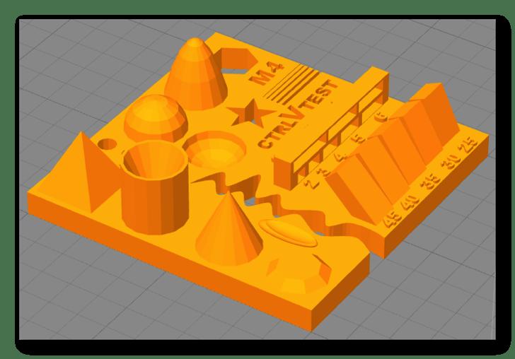 BS01 造形物(PLA):Test your 3D printer!