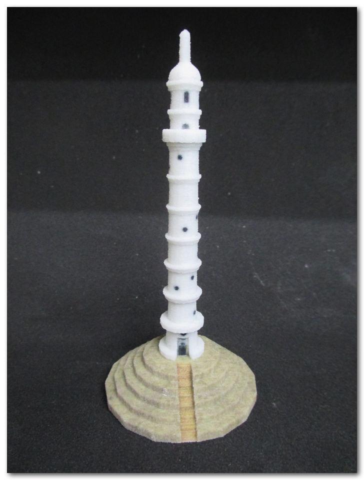 ネパール大地震被害者への募金プロジェクト 「Pray for Nepal by 3D Printer」から褒美の造形物が届いたよ