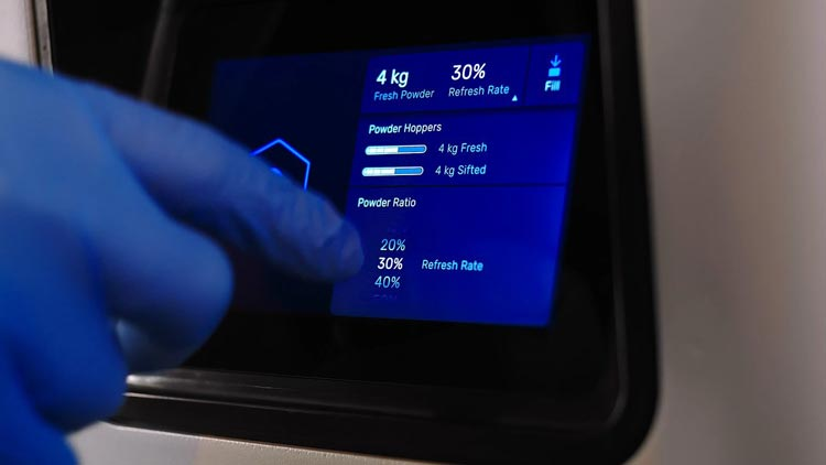 Formlabs Fuse Sift Touchscreen