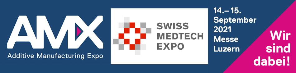 AMX und Swiss MedTech Expo 2021 Gutschein Code