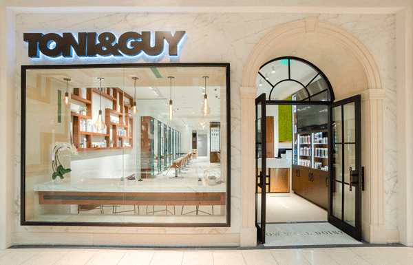 TONI&GUY Galleria Salon Gets A New Look - Behindthechair.com